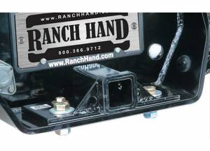 Brush Guards & Bumpers - Rear Bumpers - Ranch Hand - Ranch Hand Bolt-On Receiver Tube for Rear Bumpers