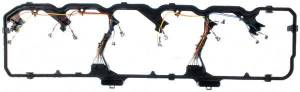 Engine Gaskets & Seals - Valve Cover Gaskets - Mahle - MAHLE Clevite Valve Cover Gasket, Dodge (2006-14) 5.9L & 6.7L Cummins
