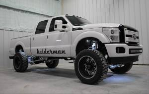 Air Suspension - Complete Air Suspension Kits - Kelderman - Kelderman Air Suspension Kit, Ford (2011-16) F-250/F-350 6.7L Powerstroke (Rear)