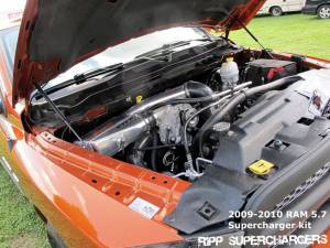 RIPP Superchargers - RIPP Supercharger Kit, Dodge/RAM (2009-11) 5.7L Hemi Kit with Tuning