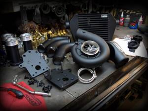 Turbos/Superchargers & Parts - Superchargers - RIPP Superchargers - RIPP Supercharger Kit, Jeep (2007-11) Wrangler JK 3.8 Kit Auto/6 Spd Black Ops Kit