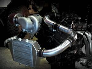 Turbos/Superchargers & Parts - Superchargers - RIPP Superchargers - RIPP Supercharger Kit, Jeep (2007-11) Wrangler JK 3.8 Kit Auto/6 Spd Silver