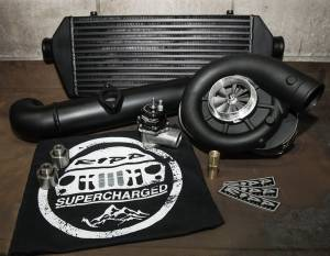 RIPP Superchargers - RIPP Supercharger Kit, Jeep (2015) Grand Cherokee WK2 5.7L Hemi Kit PowdercoatedBlack