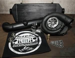 RIPP Superchargers - RIPP Supercharger Kit, Jeep (2015) Grand Cherokee WK2 6.4L SRT8 Kit PowdercoatedBlack