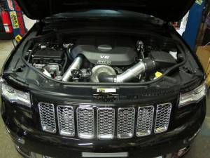 RIPP Superchargers - RIPP Supercharger Kit, Jeep (2015) Grand Cherokee WK2 6.4L SRT8 Kit Silver