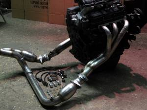RIPP Superchargers - RIPP Superchargers Long Tube Header Kit, Jeep (2007-11) Wrangler JK 3.8L