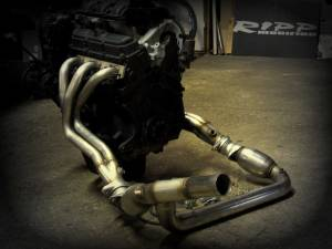 Engine Parts - Exhaust Manifolds - RIPP Superchargers - RIPP Superchargers Long Tube Header Kit, Jeep (2007-11) Wrangler JK 3.8L (with DiabloSport RM1000)