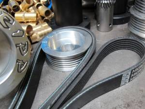 RIPP Superchargers - RIPP Superchargers Pulley And Altitude Belt, Jeep (2007-11) Wrangler JK 3.8L