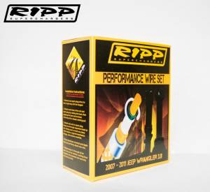 RIPP Superchargers - RIPP Superchargers Spark Plug Wire Set, Jeep (2007-11) Wrangler 3.8L