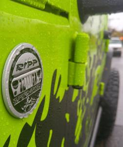 Exterior Accessories - Badges/Decals/Stickers - RIPP Superchargers - RIPP Superchargers Rated Emblem