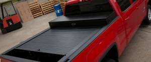 """Truck Covers USA - Truck Covers USA Work Cover, Chevy/GMC (1988-17) 8' (97"""") Long Bed, with Power Actuator - Image 4"""