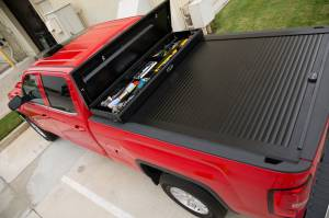 "Truck Covers USA - Truck Covers USA Work Cover, Chevy/GMC (1988-17) 6.5' (78"") Short Bed, with Power Actuator - Image 2"