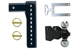 "Inventive Products - Inventive Products XD Workman, 10"" Hitch Kit, Large 2.5"" Receiver"