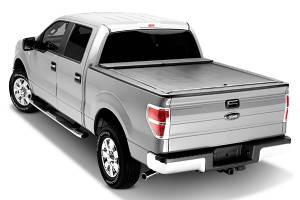 "Bed/Tonneau Covers - Aluminum Roll-Up Covers - Roll N Lock - Roll N Lock M-Series Retractable Tonneau Cover, Chevy/GMC (2014-15) 1500/2500HD/3500HD 97.8"" Bed"