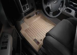 Weather Tech Front Floorliners, Nissan (2005-12) Frontier, Front, Black