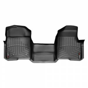 Weather Tech Front Floorliners, Ford (2011-14) F-150, Front, Black