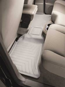 Weather Tech - Weather Tech Front Floorliners, Toyota (2012-16) Tacoma Access Cab, Rear, Gray