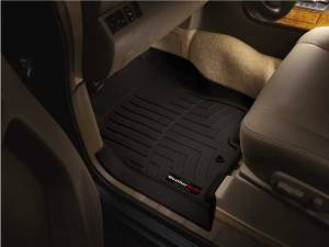Weather Tech Front Floorliners, Toyota (2005-06) Tundra, Front, Black