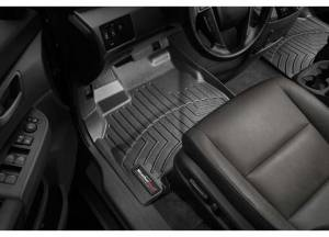 Weather Tech - Weather Tech Front Floorliners, Jaguar (2009-15) XF, Front, Black