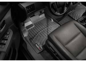 Weather Tech Front Floorliners, Lexus (2013-16) ES, Front, Black