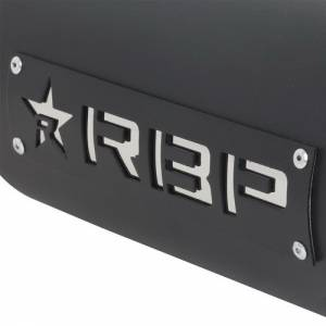 """Rolling Big Power - RBP RX-1 4"""" Inlet to 4"""" Outlet - 18"""" Long Dual Badged (Black/ White Star) - Image 3"""