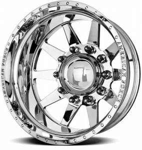 "American Force Wheels - American Force Independence SD Wheel, 8x170, 20""x8.25"" (Mirror Polished Finish/ Dually)"