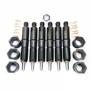 Dynomite Diesel - Dynomite Diesel Fuel Injector Set, Dodge (1989-93) 5.9L 12v Cummins, Stage 2 (75-100HP)
