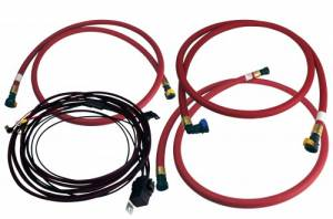 Fuel Pump Systems - Fuel Pumps With Filters - Aeromotive - Aeromotive Diesel Hose & Wiring Kit, Chevy/GMC (2001-10) 6.6L Duramax