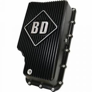 BD Power - BD Diesel Transmission Pan, Ford (2011-17) 6R140, Black