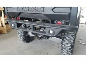 Brush Guards & Bumpers - ATV/UTV Heavy Duty Bumpers - Tough Country - Tough Country UTV Rear Bumper, Kawasaki (2014-17) Mule FX, FXT, & DXT