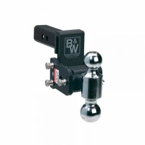 "B&W Trailer Hitches - B&W Tow & Stow Hitch for 2"" Receiver, 3"" drop - 3.5"" rise (2"" and 2-5/16"")"