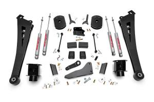 "Steering/Suspension Parts - 5"" Lift Kits - Rough Country - Rough Country 5"" Suspension Lift Kit, Dodge (2014-17) 2500, 4WD"
