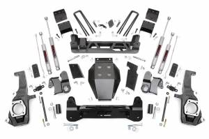 "Rough Country - Rough Country 5"" Suspension Lift Kit, Chevy/GMC (2011-18) 2500/3500, 4WD"