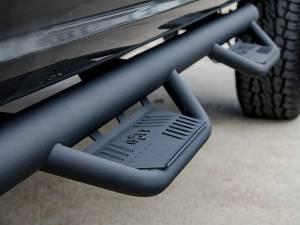 Nerf Bars & Steps - Nerf Steps - N-Fab - N-Fab Podium Nerf Steps, Ford (1999-16) F-250/F-350/F-450/F-550 Cab Length