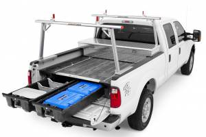 "Tools - Tool Boxes - Decked - Decked Bed Storage Solution , Ford (2017-18) F-250/F-350, 6' 9"" Bed"
