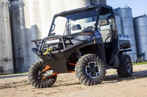 Brush Guards & Bumpers - ATV/UTV Heavy Duty Bumpers - Tough Country - Tough Country UTV Front Bumper, Polaris (2018-2020) 2 passenger Ranger 1000