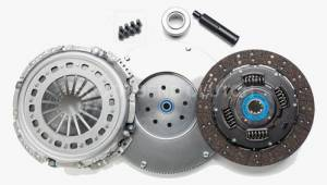 Clutches/Clutch Parts - Single Disk Clutch - South Bend Clutch - South Bend HD Single Disk Clutch Kit With Flywheel, Dodge (2000.5-05.5) 5.9L NV5600, 475HP