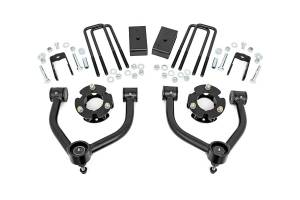 "Steering/Suspension Parts - 3"" Lift Kits - Rough Country - Rough Country 3"" Suspension Lift Kit, Nissan Titan XD (2016-18) 5.0L, Cummins"