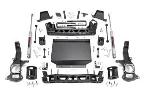 "Rough Country - Rough Country 6"" Suspension Lift Kit, Nissan Titan XD 4WD (2016-18) 5.0L, Cummins"