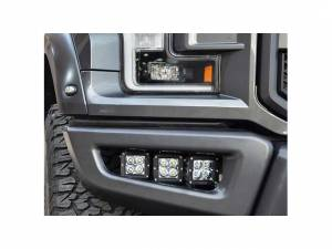 N-Fab - N-Fab Light Mounting Solution, Ford (2017) F150 Raptor, Sold in Pairs, Textured Black