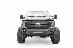 Brush Guards & Bumpers - Front Bumpers - Fab Fours - Fab Fours Vengeance Front Bumper, Ford (2017-18) F-250/F-350