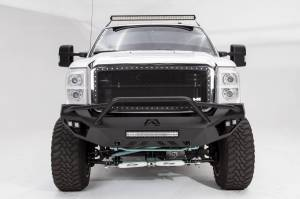 Brush Guards & Bumpers - Front Bumpers - Fab Fours - Fab Fours Vengeance Front Bumper, Ford (2011-16) F-250/F-350, With Prerunner Bar