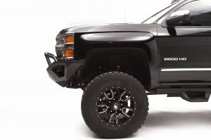 Fab Fours - Fab Fours Vengeance Front Bumper, Chevy (2011-14) 2500/3500, With Prerunner Bar - Image 2
