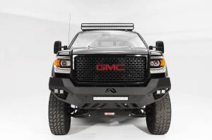 Brush Guards & Bumpers - Front Bumpers - Fab Fours - Fab Fours Vengeance Front Bumper, GMC (2015-18) 2500/3500