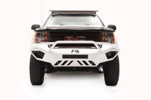 Brush Guards & Bumpers - Front Bumpers - Fab Fours - Fab Fours Vengeance Front Bumper, GMC (2011-14) 2500/3500, With Prerunner Bar (Black Powdercoat)