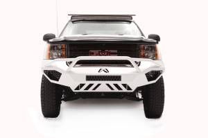 Fab Fours - Fab Fours Vengeance Front Bumper, GMC (2011-14) 2500/3500, With Prerunner Bar (Black Powdercoat)