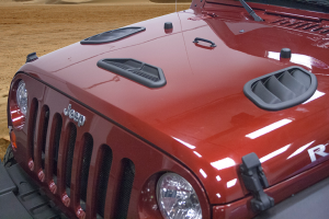 Test Category -  - Daystar - Daystar Hood Vent Combo Kit, Jeep (2007-17) Wrangler JK