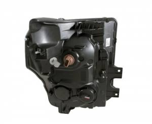 Anzo - Anzo Projector Headlight, Ford (2011-16) Super Duty (Black Housing/ Clear Lens) - Image 2
