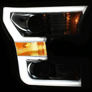 Anzo - Anzo Projector Headlight, Ford (2015-17) F-150 (Chrome Housing/ Clear Lens) - Image 3
