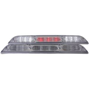 Lighting - Brake Lights - Anzo - Anzo LED 3rd Brake Light, Ford (2017-18) Super Duty (Chrome Housing/Clear Lens)